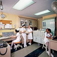 Pelham Bay General Hospital, Nurses Station