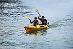 NELSON, NEW ZEALAND - OCTOBER 2: K2M Kayak Promo, Kaiteriteri, Motueka. Wednesday 2 October 2019 in Motueka, New Zealand. (Photo by Chris Symes/Shuttersport Limited)