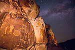 Starry Skies Over McGee Springs Petroglyphs