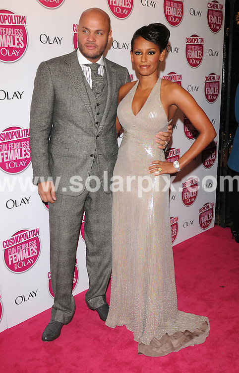 **ALL ROUND PICTURES FROM SOLARPIX.COM**.**WORLDWIDE SYNDICATION RIGHTS**.The Cosmopolitan Fun Fearless Women Awards. Held at Banqueting House, Whitehall, London. 5th November 2008..This picture: Mel B and Stephen Belafonte..JOB REF: 7803 SSD     DATE: 05_11_2008.**MUST CREDIT SOLARPIX.COM OR DOUBLE FEE WILL BE CHARGED* *UNDER NO CIRCUMSTANCES IS THIS IMAGE TO BE REPRODUCED FOR ANY ONLINE EDITION WITHOUT PRIOR PERMISSION*