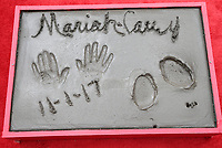 HOLLYWOOD, CA - NOVEMBER 1: Mariah Carey, Cement Plaque, at Mariah Carey Hand And Footprint Ceremony' At The TCL Chinese Theatre in Hollywood, California on November 1, 2017. Credit: Faye Sadou/MediaPunch