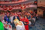 27. 02.2019, Maritim Hotel , Koeln,  GER, Karnevalssitzung des 1. FC Koeln , <br /> <br /> im Bild / picture shows: <br /> es wird ausgelassen gefeiert und gesungen<br /> <br /> Foto © nordphoto / Meuter