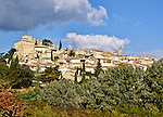 The medieval village of Ansouis, located in the Luberon, Provence