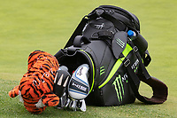 26th January 2020, Torrey Pines, La Jolla, San Diego, CA USA;  Tiger Woods' golf bag during the final round of the Farmers Insurance Open at Torrey Pines Golf Club on January 26, 2020 in La Jolla, California.