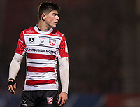Gloucester's Louis Rees-Zammit <br /> <br /> Photographer Bob Bradford/CameraSport<br /> <br /> European Rugby Heineken Champions Cup Group E - Gloucester v Montpellier Herault Rugby - Saturday 11th January 2020 - Kingsholm Stadium - Gloucester<br /> <br /> World Copyright © 2019 CameraSport. All rights reserved. 43 Linden Ave. Countesthorpe. Leicester. England. LE8 5PG - Tel: +44 (0) 116 277 4147 - admin@camerasport.com - www.camerasport.com
