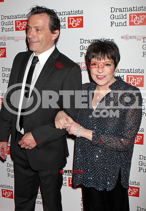 Liza Minnelli and Lionel Casseroux attend The Dramatists Guild Fun's 50th Anniversary Gala at the Mandarin Oriental in New York, 03.06.2012...Credit: Rolf Mueller/face to face /MediaPunch Inc. ***FOR USA ONLY***