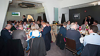 Guests enjoying the pre-match lunch in the Corinthian Sports restaurant ahead of the RBS 6 Nations match between England and Scotland at Twickenham Stadium on Saturday 11th March 2017 (Photo by Rob Munro/Stewart Communications)