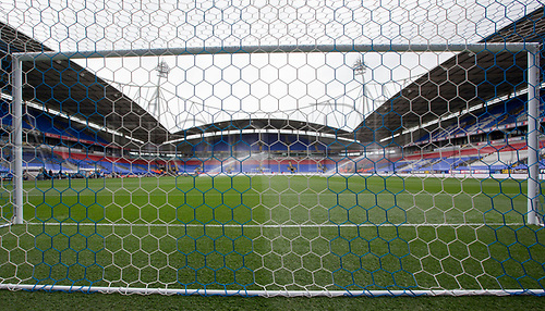 August 6th 2017, Macron Stadium, Bolton, England; Sky Bet Championship; Bolton Wanderers versus Leeds United;  Behind the goal view inside the Macron stadium