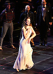 """Laura Osnes during the Manhattan Concert Productions 25th Anniversary concert performance of """"Crazy for You"""" at David Geffen Hall, Lincoln Center on February 19, 2017 in New York City."""