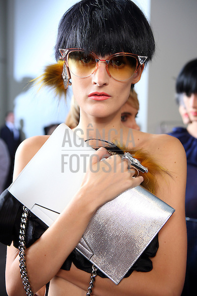 Milao, Italia , 09/2013 - Desfile de Fendi durante a Semana de moda de Milao  -  Verao 2014. <br /> Foto: FOTOSITE