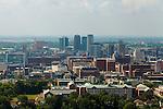 Downtown Birmingham, Alabama August 14, 2013.