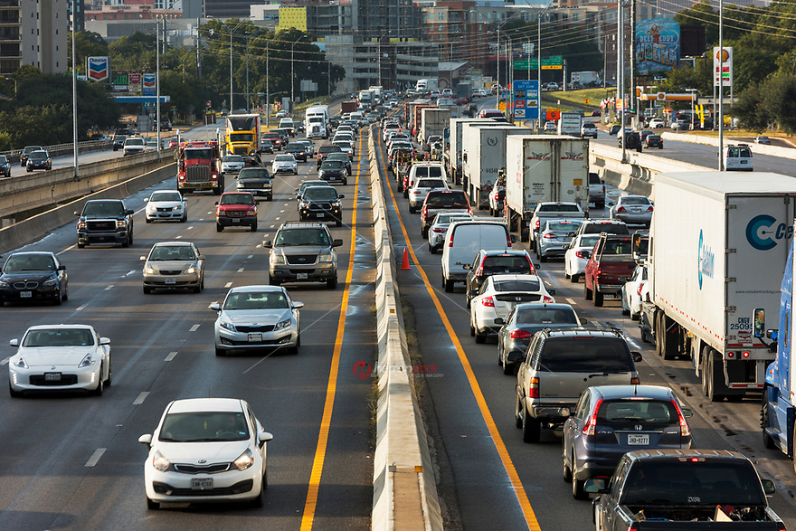Austin's I-35 Is the Most Congested Road In Texas. It's no secret Interstate 35 congestion takes a toll on Austinites. Out of a list of Texas' 100 most congested roadways, the portion of I-35 running through central Austin is the most congested in the state.