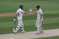Nick Browne and Daniel Lawrence see Essex to victory during Essex CCC vs Yorkshire CCC, Specsavers County Championship Division 1 Cricket at The Cloudfm County Ground on 9th July 2019