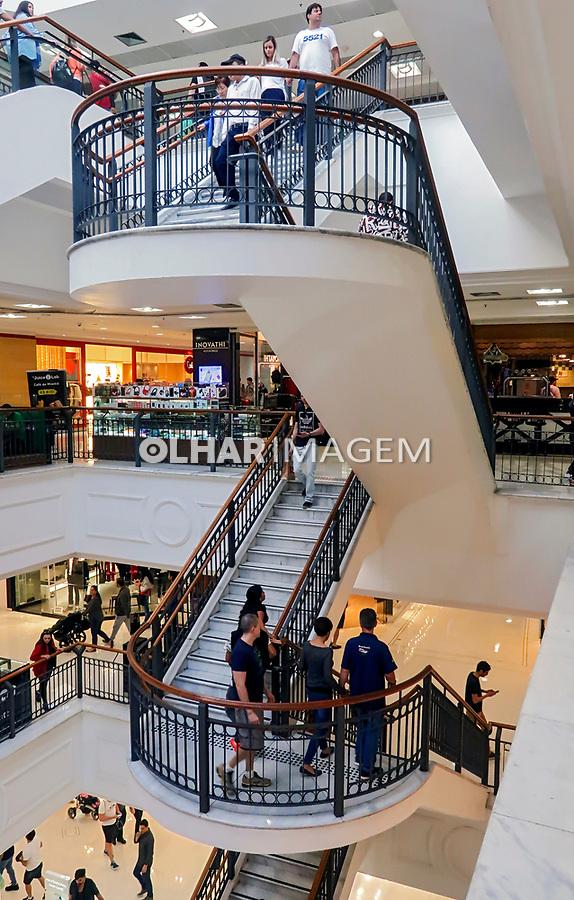 Shopping Paulista, Sao Paulo. 2018. Foto de Juca Martins.