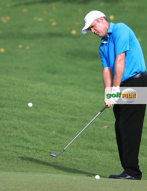 Scott Hend (AUS) on the 3rd during the Pro-Am of the Maybank Malaysian Open 2012 at Kuala Lumpur Golf and Country Club, Kuala Lumpur, Malaysia...(Photo Jenny Matthews/www.golffile.ie)