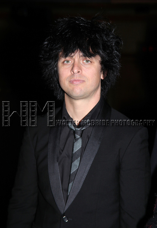 Billie Joe Armstrong.attending the Opening Night Broadway performance Gypsy Robe Ceremony for Green Day's AMERICAN IDIOT at the St. James Theatre, New York City..April 20, 2010.© Walter McBride /