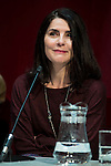 """Ana Fernandez during the presentation of the new production of the Spanish Theater """"Arte Nuevo""""  at spanish theater in Madrid, February 16, 2016<br /> (ALTERPHOTOS/BorjaB.Hojas)"""