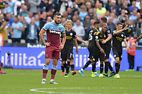 Dejected Robert Snodgrass of West Ham Unitedduring West Ham United vs Manchester City, Premier League Football at The London Stadium on 10th August 2019