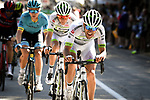 Amael Moinard (FRA) Team Fortuneo-Samsic in action during Stage 11 of the 2018 Tour de France running 108.5km from Albertville to La Rosiere Espace San Bernardo, France. 18th July 2018. <br /> Picture: ASO/Pauline Ballet   Cyclefile<br /> All photos usage must carry mandatory copyright credit (&copy; Cyclefile   ASO/Pauline Ballet)