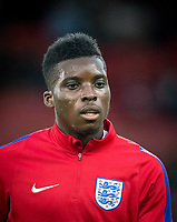 Sheyi 'Oluwaseyi' Ojo (Fulham (on loan from Liverpool) of England U21 ahead of the FIFA World Cup qualifying match between England and Slovakia at Wembley Stadium, London, England on 4 September 2017. Photo by PRiME Media Images.