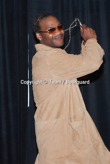 Jaheim in  the press Room at the 2nd Annual BET Awards at the Kodak Theatre in Los Angeles. June 25, 2002.           -            Jaheim11.jpg