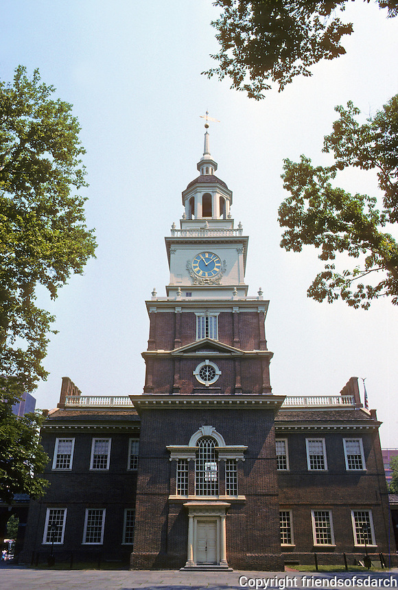 Philadelphia: Independence Hall 1732-1748. (State House).