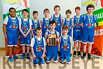 Kerry Area Basketball Board U/12 Plate Final: The St. Anne's Team from Firies that won the U/12 plate against the TK Cougars team from Killarney at the Duagh Sports Complex on Sunday last.