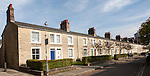 Terraced housing in the nineteenth century planned Railway Village built for workers in the Great Western Railway, Swindon, England, UK