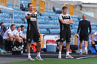 Millwall's U23 Assistant Manager, Paul Robinson makes his point during Millwall Under-23 vs Burnley Under-23, Professional Development League Football at The Den on 9th August 2019