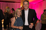 Alan Hansen with his wife Janet at the gala dinner.<br /> The Celebrity Cup 2015<br /> Celtic Manor Resort<br /> <br /> 04.07.15<br /> &copy;Steve Pope - SPORTINGWALES