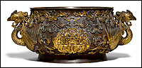 BNPS.co.uk (01202 558833)<br /> Pic: KollerAuctions/BNPS<br /> <br /> Smashed It! - £3.8 million paid for 300 year old Chinese bronze used to keep tennis balls in.<br /> <br /> The incense burning censer, decorated with auspicious peony and phoenix designs, was thought by its owners to be a 19th century copy.<br /> <br /> It was only when the family invited Asian art specialist Regi Preiswerk to their home to look at some other antiques that its true potential was spotted.<br /> <br /> The 2ft wide urn weighing a hefty 48 lbs was made for a Qing Emperor in the 18th century.