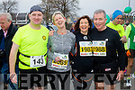 Randall Wharton, Mairead Murphy, Joan McGuinness  and Tom Stafford runners at the Kerry's Eye Tralee, Tralee International Marathon and Half Marathon on Saturday.