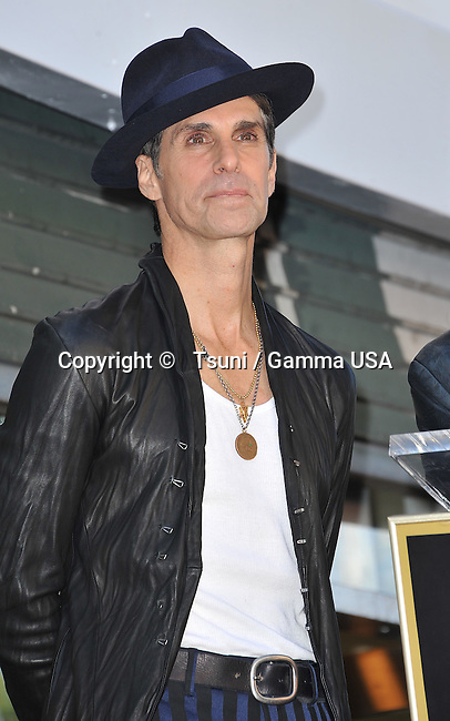 Perry Farrell 113 at the ceremony for <br /> Janes's Addiction - star on the Hollywood Walk Of Fame in Los Angeles.