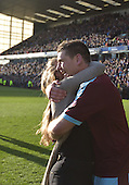 02/05/16 Sky Bet League Championship  Burnley v QPR<br /> Sam Vokes gets a hug