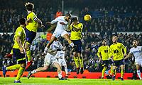 Leeds United's Kemar Roofe scores the winning goal in injury time<br /> <br /> Photographer Alex Dodd/CameraSport<br /> <br /> The EFL Sky Bet Championship - Leeds United v Blackburn Rovers - Wednesday 26th December 2018 - Elland Road - Leeds<br /> <br /> World Copyright © 2018 CameraSport. All rights reserved. 43 Linden Ave. Countesthorpe. Leicester. England. LE8 5PG - Tel: +44 (0) 116 277 4147 - admin@camerasport.com - www.camerasport.com