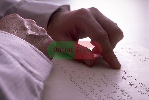 braille reading, blind, blindness