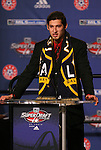 15 January 2009: Omar Gonzalez was taken with the third overall pick by the Los Angeles Galaxy. The 2009 Major League Soccer SuperDraft was held at the Convention Center in St. Louis, Missouri in conjuction with the National Soccer Coaches Association of America's annual convention.