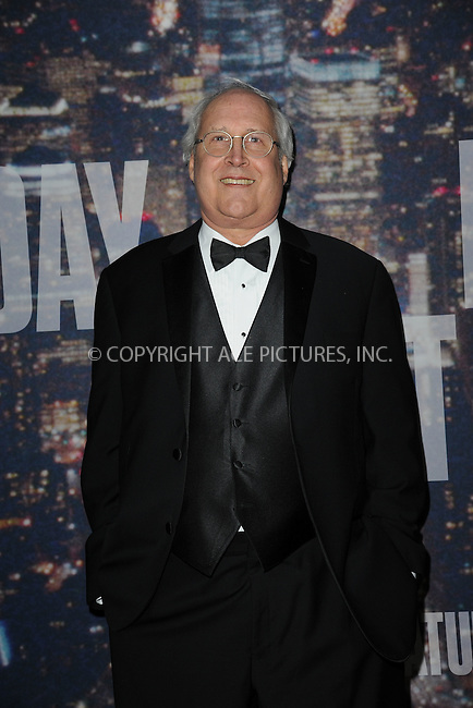 WWW.ACEPIXS.COM<br /> February 15, 2015 New York City<br /> <br /> Chevy Chase walking the red carpet at the SNL 40th Anniversary Special at 30 Rockefeller Plaza on February 15, 2015 in New York City.<br /> <br /> Please byline: Kristin Callahan/AcePictures<br /> <br /> ACEPIXS.COM<br /> <br /> Tel: (646) 769 0430<br /> e-mail: info@acepixs.com<br /> web: http://www.acepixs.com