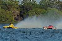"Brandon Kennedy, E-30 ""Budget Buster"" and Tom English, E-75, ""The Investigator"" (5 Litre class hydroplane(s)"