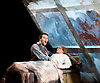 La Boheme <br /> by Puccini <br /> English Touring Opera at the Hackney Empire, London, Great Britain <br /> rehearsal <br /> 11th March 2015 <br /> <br /> David Butt Philip as Rodolfo <br /> <br /> Ilona Domnich as Mimi <br /> <br /> <br /> <br /> <br /> Photograph by Elliott Franks <br /> Image licensed to Elliott Franks Photography Services