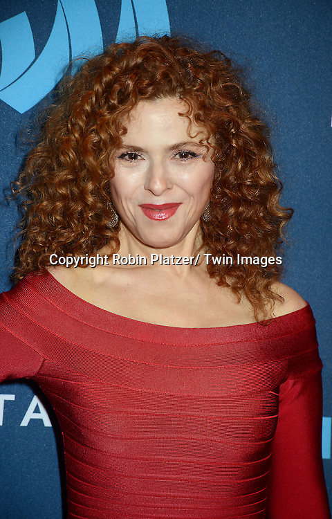 Bernadette Peters attends the 24th Annual GLAAD Media Awards on March 16, 2013 at The Marriott Marquis in New York City.