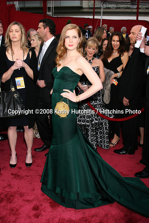 Amy Adams.80th Academy Awards ( Oscars).Kodak Theater.Los Angeles, CA.February 24, 2008.©2008 Kathy Hutchins / Hutchins Photo.