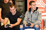 Real Madrid's players Lucas Vazquez attends to the presentation of the new Adidas shoes Red Limit at Adidas Gran Via Store in Madrid. November 28, 2016. (ALTERPHOTOS/Borja B.Hojas)