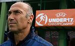 Soccer, UEFA U-17.France Vs. England.French head coach Patrick Gonfalone.Indjija, 03.05.2011..foto: Srdjan Stevanovic