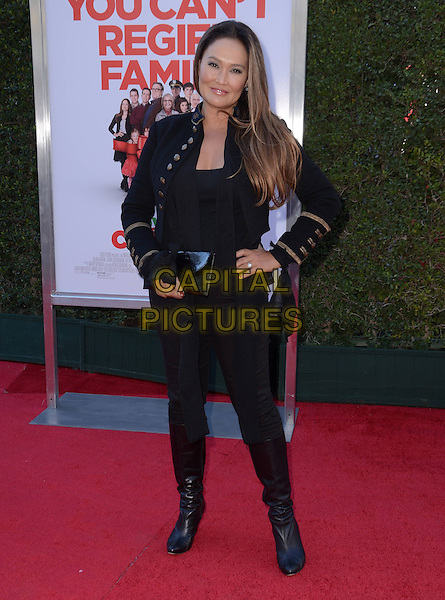 13 November - Los Angeles, Ca - Tia Carrere. Arrivals for the Los Angeles premiere of &quot;Love the Coopers&quot; held at The Grove.   <br /> CAP/ADM/BT<br /> &copy;BT/ADM/Capital Pictures