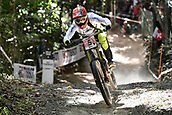 10th September 2017, Smithfield Forest, Cairns, Australia; UCI Mountain Bike World Championships; Eleonora Farina (ITA) riding for GB RIFAR Mondraker ASD on her way to fourth place in the elite womens downhill race;