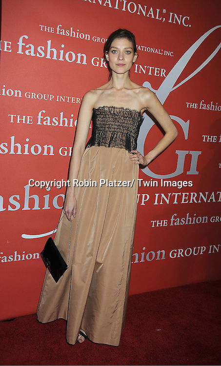 Kati Nescher attends the Fashion Group International's 29th Annual  Night of Stars Gala on October 25, 2012 at Cipriani Wall Street in New York City.