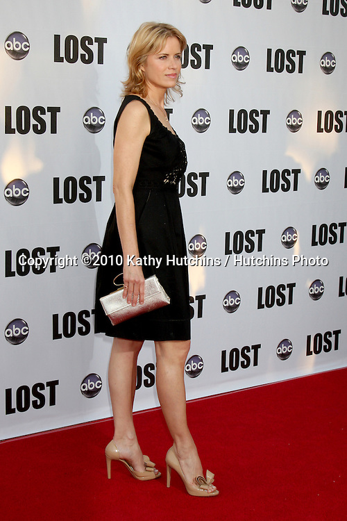 """Kim Dickens.arrives at the """"Lost"""" Live:  The Final Celebration.Royce Hall, UCLA.Westwood, CA.May 13, 2010.©2010 Kathy Hutchins / Hutchins Photo.."""