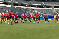 USMNT Training, July 21, 2017