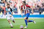 Filipe Luis of Atletico Madrid in action during their La Liga match between Atletico Madrid and Deportivo de la Coruna at the Vicente Calderon Stadium on 25 September 2016 in Madrid, Spain. Photo by Diego Gonzalez Souto / Power Sport Images